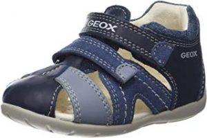sandalia bebe geox azul