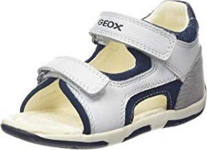 Sandalias blancas para bebés Geox
