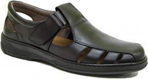 Sandalias de cuero hombre marca española