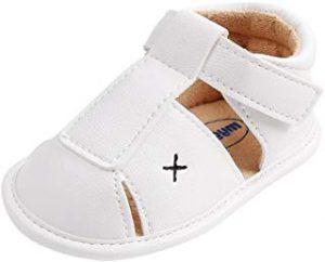 Sandalias economicas bebes blancas