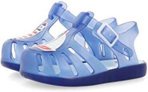 Sandalia transparente para bebe verano