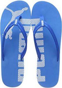 Sandalias azules puma verano piscina hombre